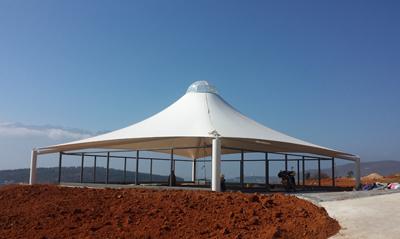 大理理想邦售楼处(ETFE+PVDF)