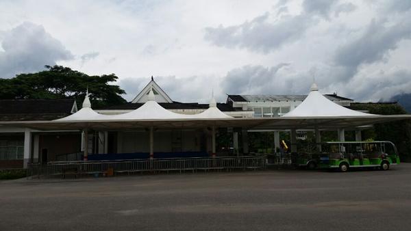 版纳植物园入口