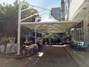 昆明市运输局雨棚膜结构