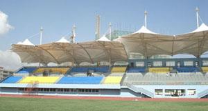 文山第一中学体育场看台膜结构