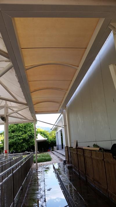 中国科学院西双版纳热带植物园园外园PTFE膜结构工程
