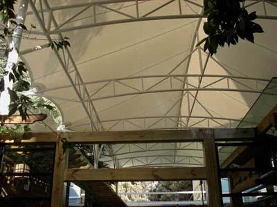 云南省科技馆后谷咖啡膜结构工程