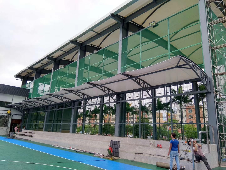 临沧市临翔区人民法院网球场膜结构