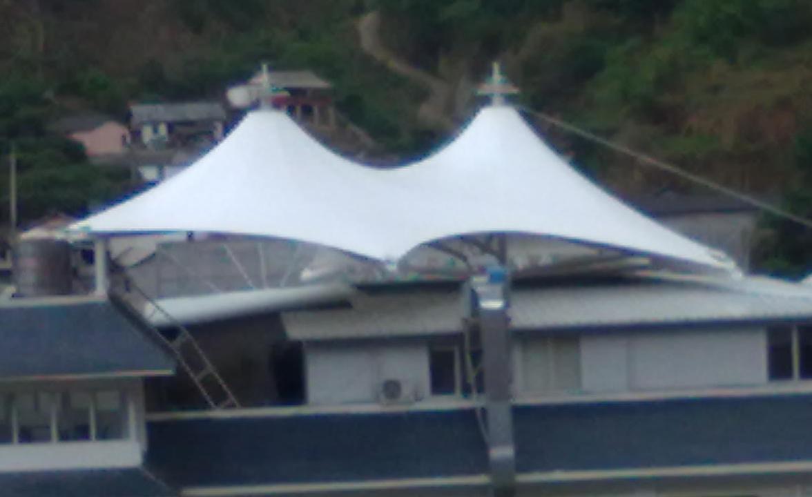 云南华电六库水电站膜结构